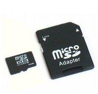New 8GB Micro SD SDHC TF Memory Card Class 6 TransFlash & SD Adapter 8G 8 GB