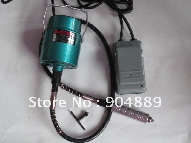High Power multi-function Electric tool hanging mill / engraving machine with handle + high-speed steel cutting disc+foot pedal(China (Mainland))