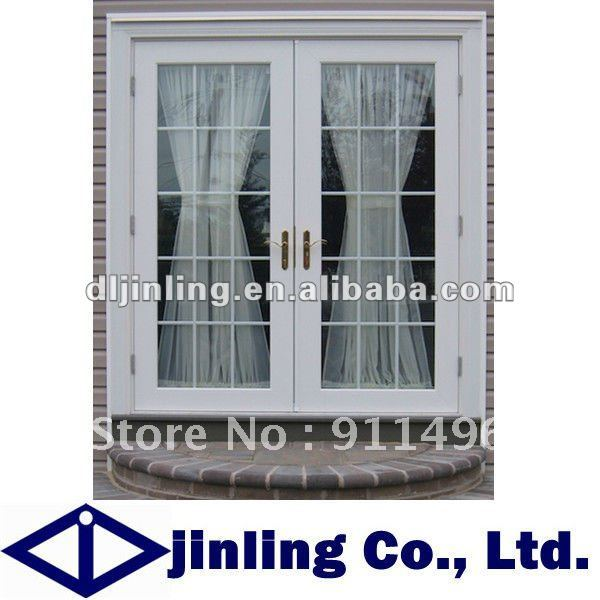 Aluminum double doors exterior for Exterior french door manufacturers