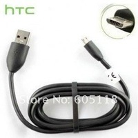 wholesaler free shipping 1.2M 4FT OD4.0 Micro USB sync data & charge cable special for HTC in sealed packing wiht label