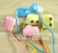 30pcs Earphone In-ear Cartoon Style Bread Shape Earphone 3.5mm audio Jack Cheap Price Large Supply Free Shipping