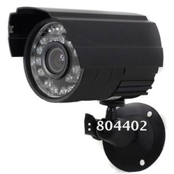 Hot Sale ! 24IR LED D/N 1/3 inch Color CMOS Waterproof Camera With Free Shipping(China (Mainland))