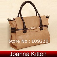 2colors 1pcs/Lot JK Fashion PU Leather Handbags Tote Messenger Shoulder bags handbags women BG173