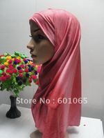 Hot!!! 12030812 2-pcs set gradient islamic higabs muslim scarf for free shipping