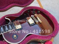 Classic Custom Shop Electric Guitar Scarlet Red Color Ebony Fingerboard Frets Binding