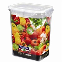 High quality,Fresh keeping box, Food storage,plastic food container, toughness is not broken ,Free shipping,1.5L