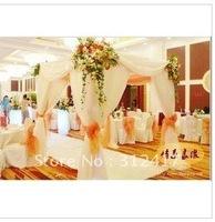 Free shipping Wholesale and retail wedding decoration, wedding canopy drape