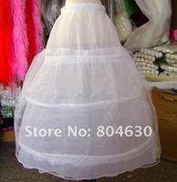 wedding dress long petticoat Bridal non-rim pannier bride dress free shipping