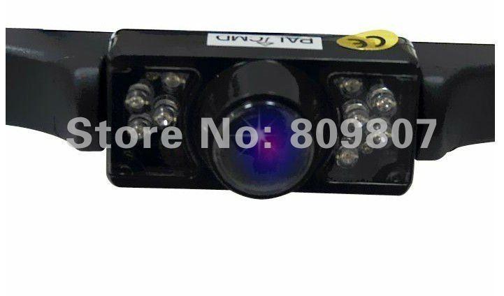 Drop shipping car auto vehicle IR Back Up Night Vision Car Reverse rearview Rear View Camera DVR(China (Mainland))