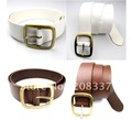 Wholesale Free Shipping Women FashionTie-in cowboy contracted personality belt Leather Belt 10pcs/lot.
