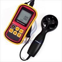 free shipping LCD Electronic digital Handheld Speed Meter Anemometer Measure