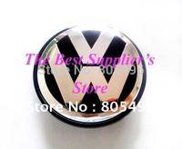 VW Wheel Center Cap Volkswagen 3D Chrome GOLF JETTA PASSAT LUPO POLO 76MM 50piece Free Shipping