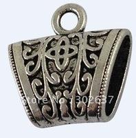 20Pcs Tibetan silver Scarf Bail Ring A15751