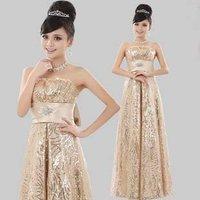 Hot sale! quality lady full length lace dress,Wedding Bride dress/Free shipping+wholesale