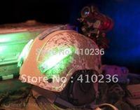 Airsoft Distress Marker Signal Strobe for OPS FAST Base Jump MICH Helmet  Life saving lamp Red x 1 IR light*1 Blue*1 Green*1