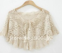 Hand Crocheted Mini Short Skirt/Cape