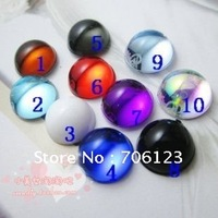Wholesale DIY Garment / phone / nail art Accessories 8mm Round smooth surface Acrylic diamond flatback Rhinestones 1000pcs