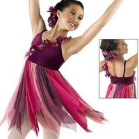 Free ship! Hot sell glitter kid Latin dance dress 1~15T fashion child perform skirt baby girl Latin dancewear/stage costume
