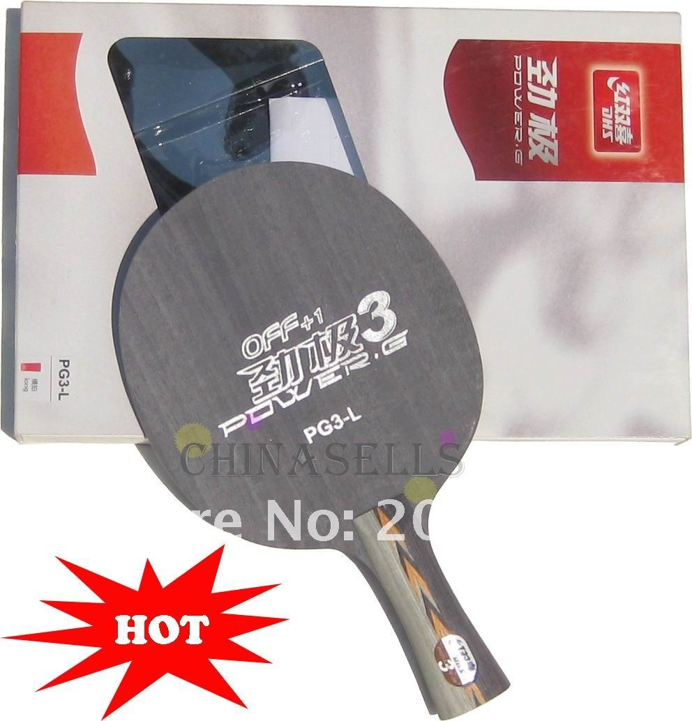 free ship Genuine table tennis blade DHS POWER.G PG3 5ply table tennis racquet pingpong racket(China (Mainland))