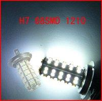 White H7 68SMD 1210/3528 Car LED Bulb Fog Lamp light HK Post Free Shipping