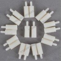 M3 6 + 15mm Plastic Nylon Pillar Hex Spacer Male/Female 20pcs