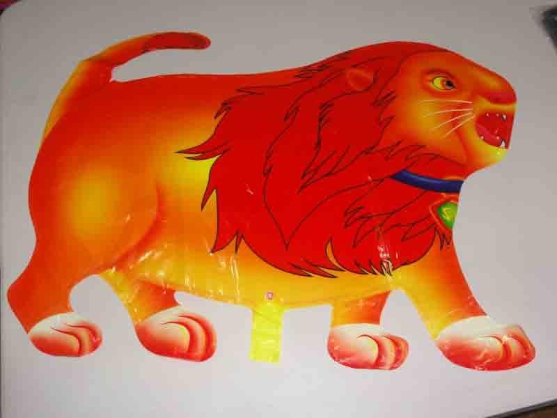 Atacado Frete grátis por DHL FEDEX EMS Lion Foil balão(China (Mainland))