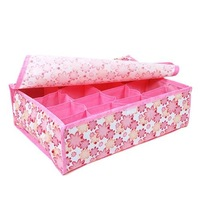 Desk box Underwear box Home Storage Box Receive Box non-woven fabrics Free Shipping 8pcs