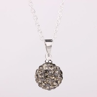 Fashion Jewelry Shamballa Necklace New Tresor Paris Allure CZ Disco Ball Bead SBP002 U G 335