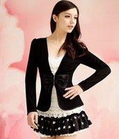 S-L new fashion women white blue sleeveless temperament dress #10999