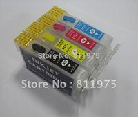 Free ShippingT1281 -T1284 refillable ink cartridge for epson Stylus S22 SX125 SX420W SX425W Stylus Office BX305F BX305FW Printer