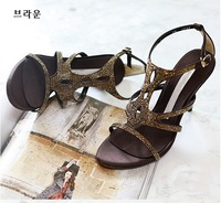 2012 Sweet lady high heel sandals Fish mouth sandals lovely high heels HH086 FREE SHIPPING