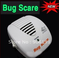 1pc freeshipping New Ultrasonic Mouse Rat Bug Insect pest repeller / cockroach mosquito dispeller dropshipping