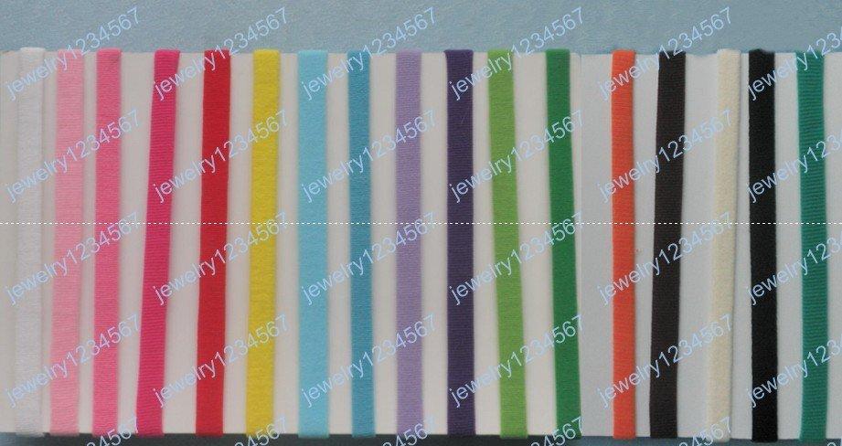 Children baby Colorful soft nylon headbands in good quality Headbands,Hairbands 100pcs(China (Mainland))