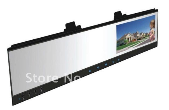 "HD 720P DVR with 4.3""TFT LCD Monitor mirror and wireless back side camera(China (Mainland))"