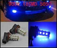 White 9006 HB3 18SMD 5050 LED Bulbs For Daytime Running Light Free Shipping