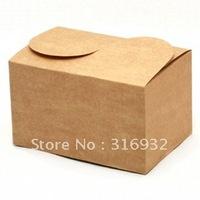 E1 New! simple kraft paper cake/ desserts boxes,  for Party, 30pcs/lot