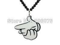 Min Order $10 Free shipping 10pcs/lot hiphp jewelry acrylic man pendant necklace