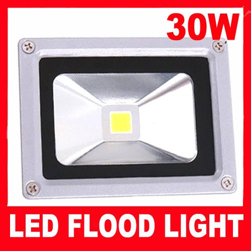 1PCS Free Shipping 30w LED Flood Wall Wash Light Lamp AC85~265V Replace 150w Halogen Flood Light floodlight(China (Mainland))