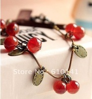 free shipping Sweet little cherry gift to restore ancient ways  beautiful hand catenary