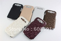 New Electroplate Chrome Snake Pattern case for Samsung Galaxy S3 III i9300 ,hard case For Samsung I9300 10pcs/lot free shipping