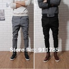 2013 new fashionable mens casual skinny pants,Slim fitness cotton trousers for man,harem style pants men,freeshipping,XS-XL,K108(China (Mainland))