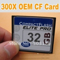 Full capacity 300X High speed 32GB Compact Flash CF card flash memory card Free shipping