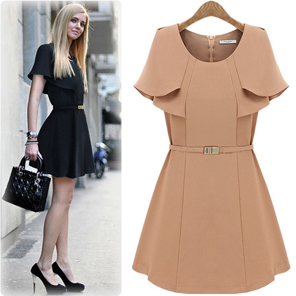 Innovative Aliexpresscom  Buy New Style Summer Women Dress Midi Dresses Fashion