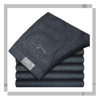 New brand 2013 Men's business leisure pure cotton straight long trousers pants men