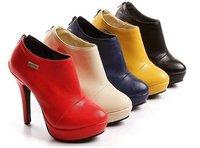 2013 designer fashion high heel shoes women high heel pumps New Sexy high heel shoes /Women Nude boots