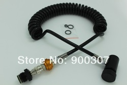Paintball accessories Remote Hose( With Slide Check)(China (Mainland))