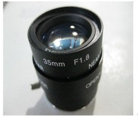 F02212 CS Mount 35mm F1.8 Varifocal Manual Zoom Focal Ir Iris Aperture Lens For CCTV Security IP Camera + Free shipping