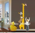 Free Shipping Removable Wall Stickers,Cartoon Height Scale Paste Home Decoration,50*70cm Wall Decals,JM8242
