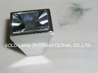 L30xW30xH28mm Free shipping 50pcs/lot high quality K9 crystal glass knob/drawer knobs