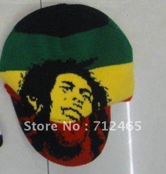 Crochet Geek : How to make a Bob Marley Crochet Slouch Cap